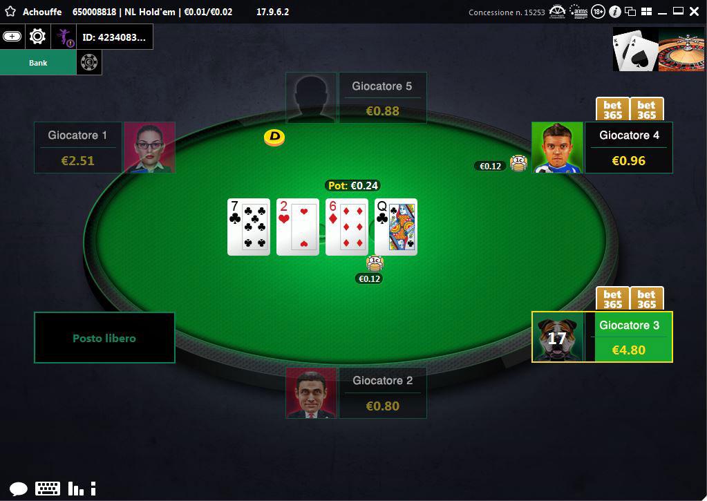Sito di incontri per giocatori di poker